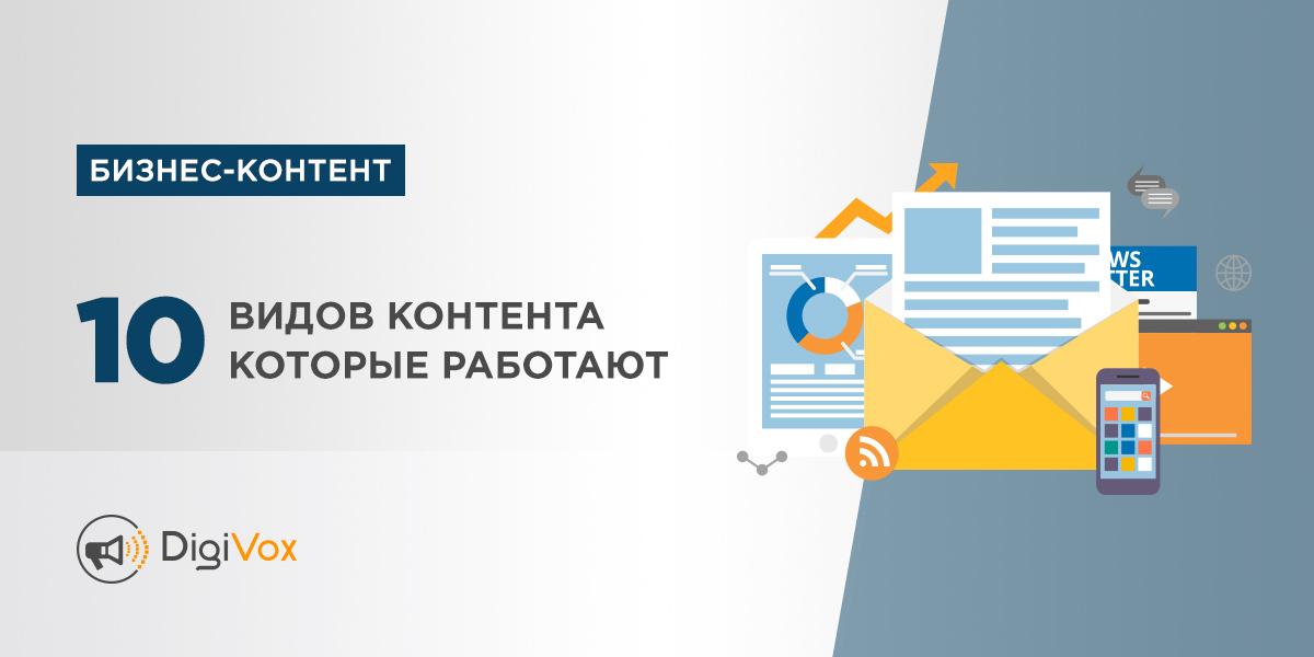 Виды бизнес-контента | DigiVox.by
