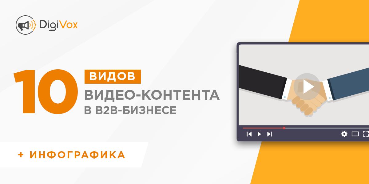 Видео-контент для b2b | DigiVox.by
